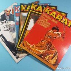 Coleccionismo deportivo: LOTE 5 REVISTAS FRANCESAS KARATE 1976/1977 + ESPECIAL DEDICADO A BRUCE LEE, VER DESCRIPCION IMAGENES. Lote 221768552