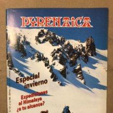 Colecionismo desportivo: PYRENAICA N° 157 (1989). SIERRA DE ENTZIA, HIMALAYA DE LA INDIA, PEÑAS ITXUSI, LOS ANDES,.... Lote 221934555
