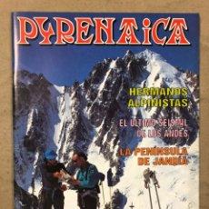Collectionnisme sportif: PYRENAICA N° 182 (1996). HERMANOS ALPINISTAS, ÚLTIMO SEISMIL DE LOS ANDES, LA PENÍNSULA DE JANDÍA. Lote 221943588