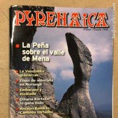 Coleccionismo deportivo: PYRENAICA N° 245 (2011). LA PEÑA SOBRE EL VALLE DE MENA, ESQUÍ DE MONTAÑA EN NORUEGA,.... Lote 221945116