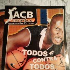 Coleccionismo deportivo: REVISTAS BASKET ACB. Lote 221976718