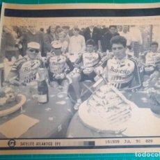 Coleccionismo deportivo: MIGUEL INDURAIN - TOUR DE FRANCE - BANESTO - SATELITE ATLANTICO EFE - 16 JULIO 1991. Lote 222071472