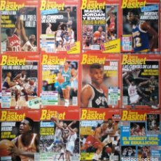 Coleccionismo deportivo: COLECCIÓN DE 65 REVISTAS ''SUPERBASKET'' (1990-1993) - NBA - JORDAN, MAGIC, BIRD, BARKLEY.... Lote 222091008