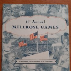 Coleccionismo deportivo: 1948 41 ST, ANNUAL MILLROSE GAMES / MILLROSE ATHLETIC ASSOCIATION. Lote 222105617