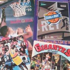 Coleccionismo deportivo: LOTE REVISTA Y PUBLICAIONES BALONCESTO BASKET BASCKONIA LOS ANGELES LAKERS GUIA COPA DEY REY LIGA. Lote 222453355