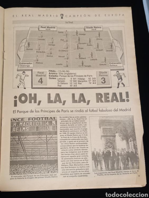 Coleccionismo deportivo: El Real Madrid,campeon de europa,periodico ABC, N° 3. La primera vino de Paris. - Foto 2 - 222533371