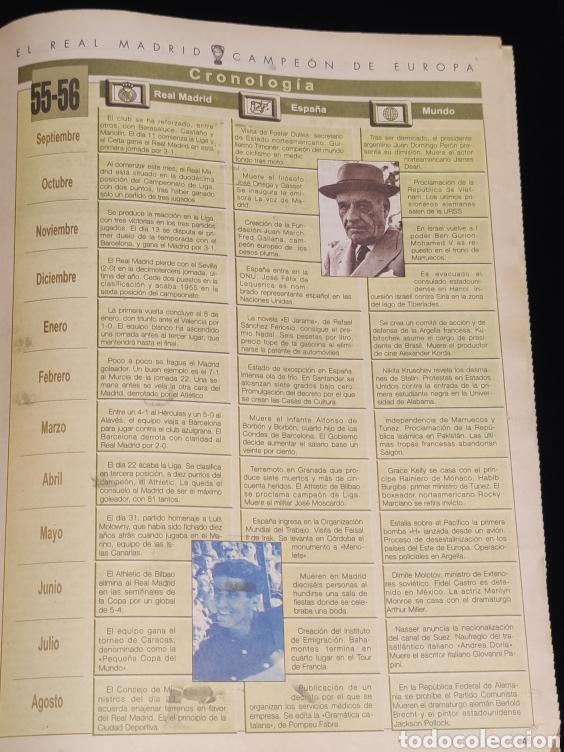 Coleccionismo deportivo: El Real Madrid,campeon de europa,periodico ABC, N° 3. La primera vino de Paris. - Foto 3 - 222533371