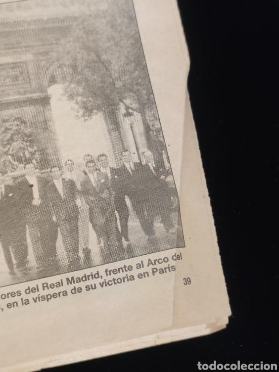 Coleccionismo deportivo: El Real Madrid,campeon de europa,periodico ABC, N° 3. La primera vino de Paris. - Foto 5 - 222533371