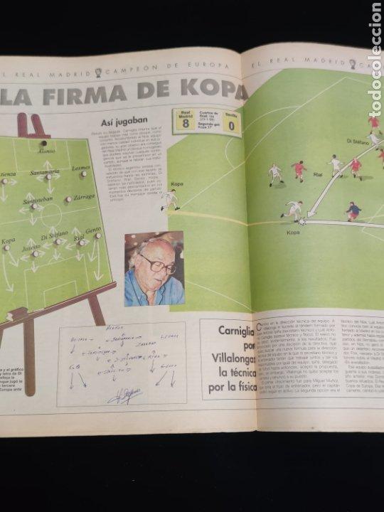Coleccionismo deportivo: El Real Madrid,campeon de europa,periodico ABC, N° 6. Di Stefano,un genio. - Foto 2 - 222536021