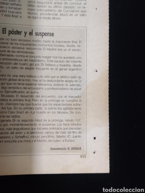 Coleccionismo deportivo: El Real Madrid,campeon de europa,periodico ABC, N° 7. Cayo el Milan. - Foto 3 - 222536615