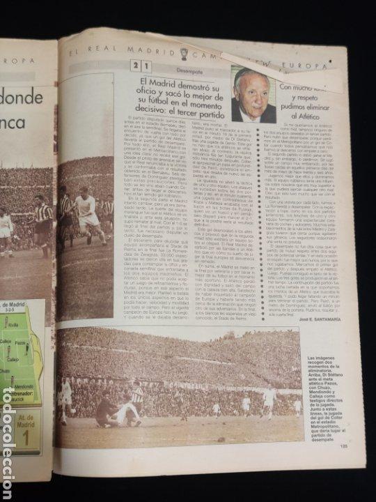 Coleccionismo deportivo: El Real Madrid,campeon de europa,periodico ABC, N° 8. Semifinal fratricida. - Foto 3 - 222537433