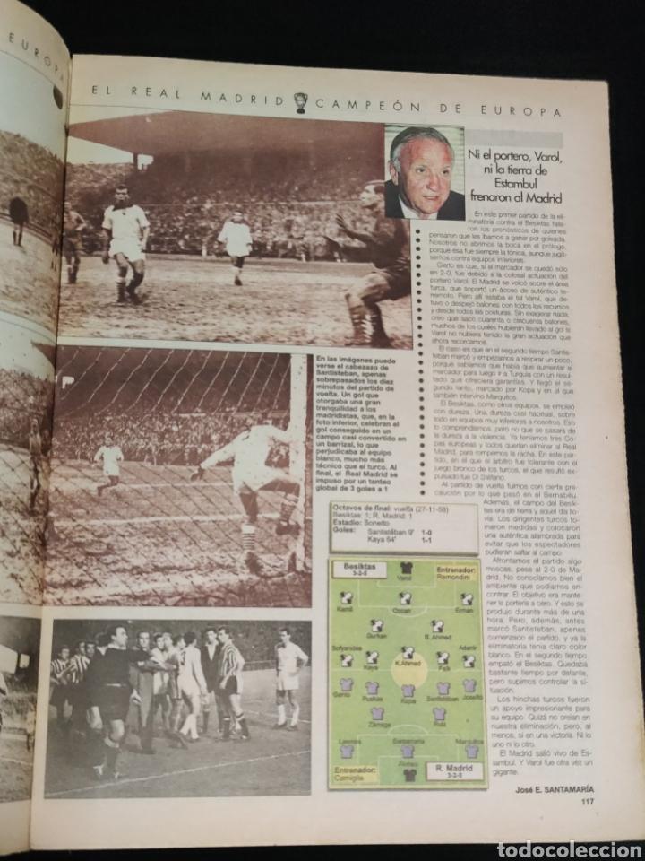 Coleccionismo deportivo: El Real Madrid,campeon de europa,periodico ABC, N° 8. Semifinal fratricida. - Foto 2 - 222537433