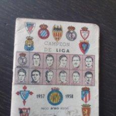 Coleccionismo deportivo: LIBRETO FÚTBOL DINÁMICO 1957 TOUR FRANCIA VUELTA CICLISTA ZARAGOZA. Lote 222541417