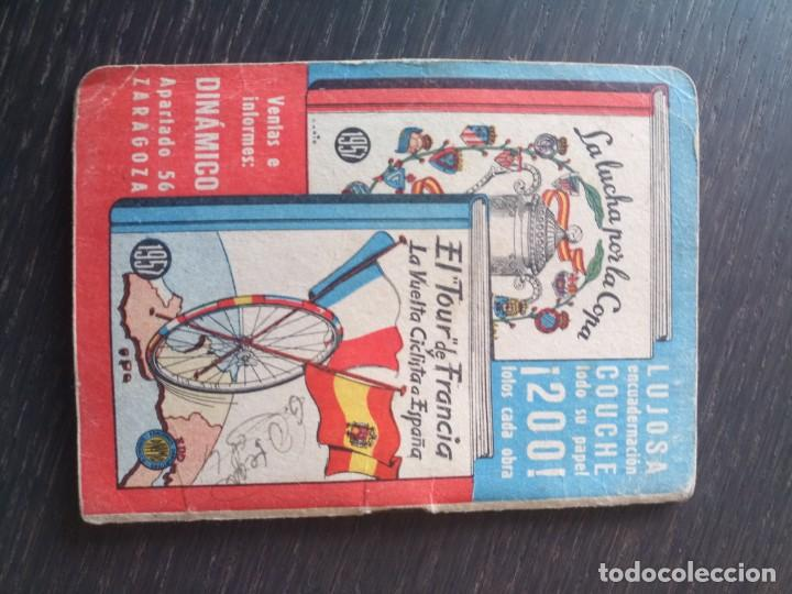 Coleccionismo deportivo: Libreto fútbol dinámico 1957 tour Francia vuelta ciclista Zaragoza - Foto 2 - 222541417