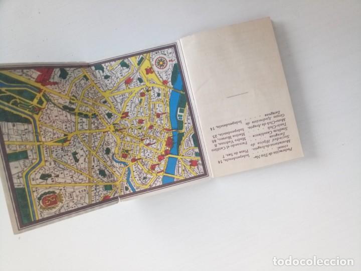 Coleccionismo deportivo: Libreto fútbol dinámico 1957 tour Francia vuelta ciclista Zaragoza - Foto 7 - 222541417
