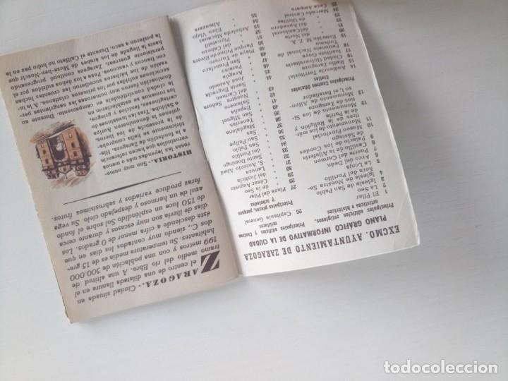 Coleccionismo deportivo: Libreto fútbol dinámico 1957 tour Francia vuelta ciclista Zaragoza - Foto 8 - 222541417