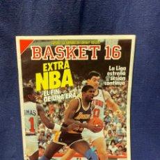 Coleccionismo deportivo: REVISTA BASKET 16 1988 NUM 57. Lote 222605651