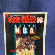 Coleccionismo deportivo: REVISTA ESTRELLAS BASKET 16 1987 NUM 7. Lote 222605888