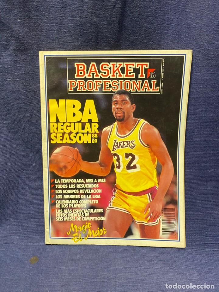 REVISTA BASKET PROFESIONAL 16 AÑO I NUM I 1989 (Coleccionismo Deportivo - Revistas y Periódicos - otros Deportes)