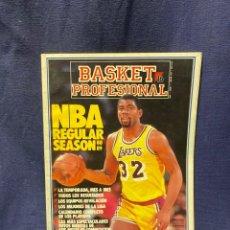 Coleccionismo deportivo: REVISTA BASKET PROFESIONAL 16 AÑO I NUM I 1989. Lote 222606177