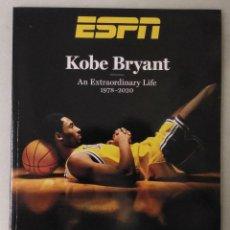 Coleccionismo deportivo: REVISTA/LIBRO ''KOBE BRYANT. AN EXTRAORDINARY LIFE. 1978-2020'' - ESPECIAL DE ESPN - NBA. Lote 222852528