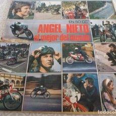 Coleccionismo deportivo: REVISTA DEPORTIVA(NOVIEMBRE-70) ANGEL NIETO EL MEJOR DEL MUNDO !!! EL RUGBY,MANOLO SANTANA(TENIS). Lote 222977810