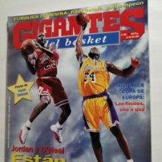 Coleccionismo deportivo: GIGANTES DEL BASKET NÚMERO 650, 14- 20 ABRIL 1998 JORDAN Y O'NEAL, PÓSTER CENTRAL AARON SWINSON. Lote 223268602