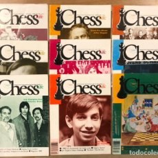 Coleccionismo deportivo: CHESS LIFE & REVIEW (1980). LOTE DE 9 REVISTAS AJEDREZ UNITED STATES CHESS FEDERATION.. Lote 224619818