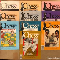Coleccionismo deportivo: CHESS LIFE & REVIEW (1981). LOTE DE 10 REVISTAS AJEDREZ UNITED STATES CHESS FEDERATION.. Lote 224620725