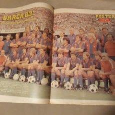 Coleccionismo deportivo: DIARIO DEPORTIVO DICEN 31 DE JULIO DE 1982 . POSTER BARCELONA 83 . CON MARADONA. DIFICIL.. Lote 224670770