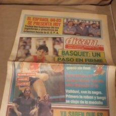 Coleccionismo deportivo: DIARIO DEPORTIVO DICEN 31 DE JULIO DE 1984 . OLIMPIADA DE LOS ANGELES 84. Lote 224672640