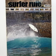 Coleccionismo deportivo: REVISTA DE SURF SURFER RULE NÚMERO 108 2007 GRADJAGAN,MADEIRA,SAFI,MARRUECOS (BIEN CONSERVADA). Lote 224894917