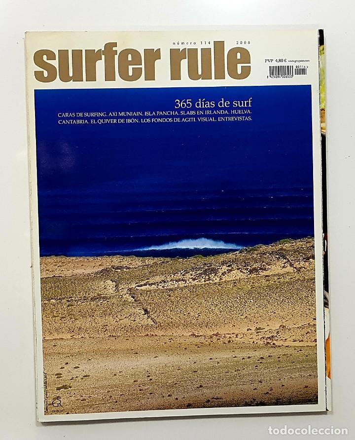 REVISTA DE SURF SURFER RULE NÚMERO 114 2008 365 DÍAS DE SURF,AXI MUNIAIN (BIEN CONSERVADA) (Coleccionismo Deportivo - Revistas y Periódicos - otros Deportes)