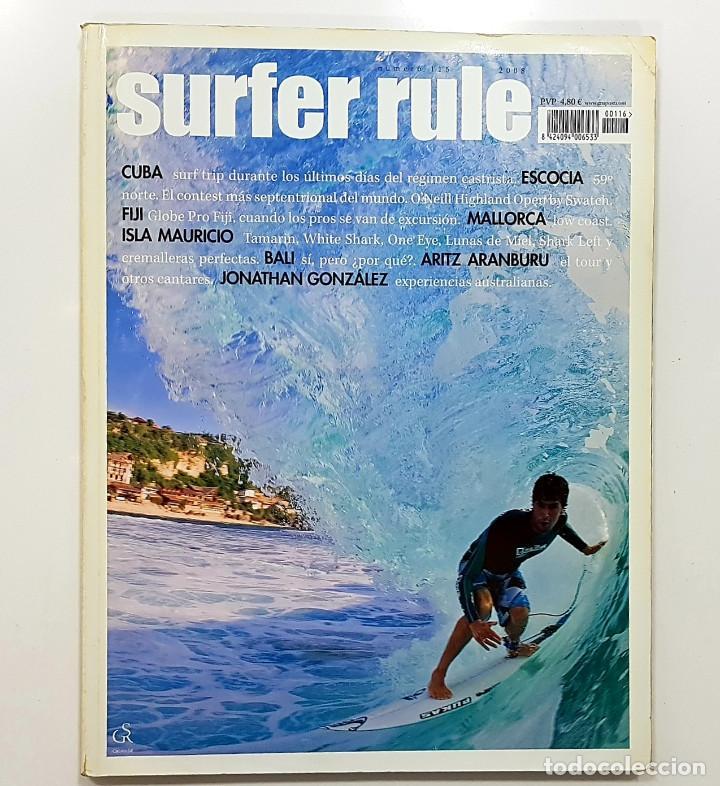 REVISTA DE SURF SURFER RULE NÚMERO 116 2008 ARITZ ARANBURU,JONATHAN GONZALEZ,BALI (BIEN CONSERVADA) (Coleccionismo Deportivo - Revistas y Periódicos - otros Deportes)