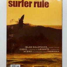 Coleccionismo deportivo: REVISTA DE SURF SURFER RULE NÚMERO 122 2009 TASMANIA,ACERO IKER ENEKO KEPA,CADIZ (BIEN CONSERVADA). Lote 224896271