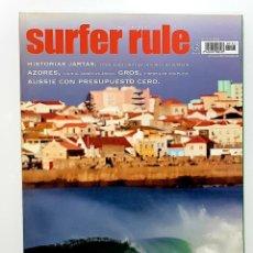 Coleccionismo deportivo: REVISTA DE SURF SURFER RULE NÚMERO 123 2009 HISTORIAS JARTAS,AZORES,GROS,AUSSIE (BIEN CONSERVADA). Lote 224896900