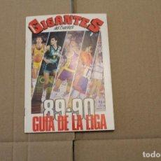 Coleccionismo deportivo: GIGANTES DEL BASKET, GUIA DE LA LIGA 89-90. Lote 225043625