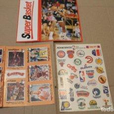 Coleccionismo deportivo: VARIOS ADHESIVOS DE BALONCESTO, GIGANTES, CAMPOFRÍO. Lote 225043877