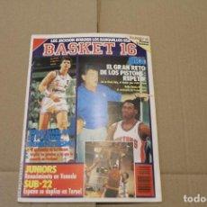 Coleccionismo deportivo: BASKET 16 Nº 94, REVISTA DE BASKET. Lote 225044260