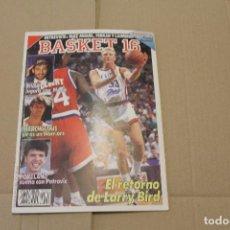 Coleccionismo deportivo: BASKET 16 Nº 92, REVISTA DE BASKET. Lote 225044418