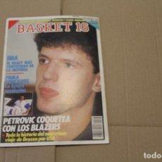 Coleccionismo deportivo: BASKET 16 Nº 93, LLEVA EN LA PÁGINA CENTRAL UN POSTER DE MAGIC JOHNSON, REVISTA DE BASKET. Lote 225045050