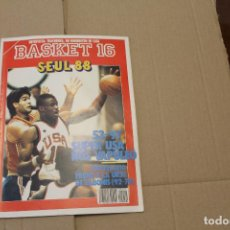 Coleccionismo deportivo: BASKET 16 Nº 51, LLEVA UN POSTER DE PATRICK EWING, REVISTA DE BASKET. Lote 225049483
