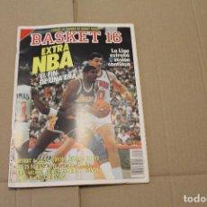 Coleccionismo deportivo: BASKET 16 Nº 57, EXTRA NBA, REVISTA DE BASKET. Lote 225049985