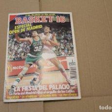 Coleccionismo deportivo: BASKET 16 Nº 56, REVISTA DE BASKET. Lote 225050258