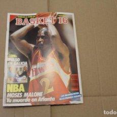 Coleccionismo deportivo: BASKET 16 Nº 59, REVISTA DE BASKET. Lote 225050320