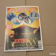 Collezionismo sportivo: BASKET 16 Nº 50, EXTRA SEÚL 88, REVISTA DE BASKET. Lote 225050460