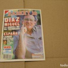 Coleccionismo deportivo: BASKET 16 Nº 42, LLEVA LOS CROMOS PERO NO EL POSTER CENTRAL, REVISTA DE BASKET. Lote 225050760