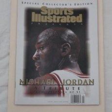 Coleccionismo deportivo: REVISTA SPORTS ILLUSTRATED EDICIÓN ESPECIAL COLECCIONISTAS MICHAEL JORDAN. BALONCESTO NBA (1999).. Lote 226288331