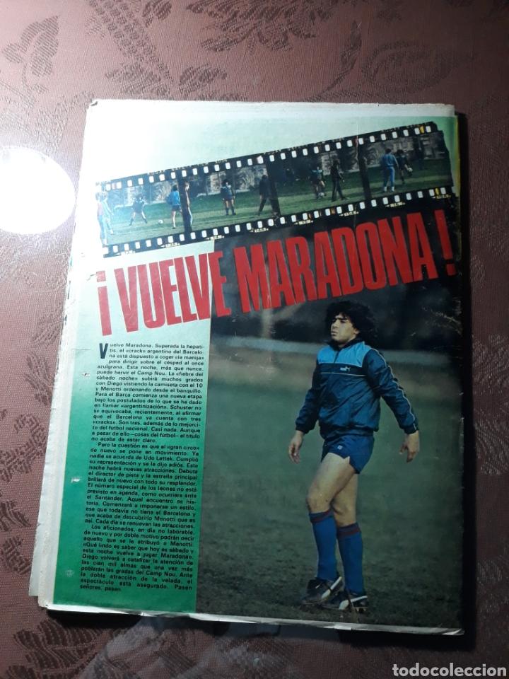 Coleccionismo deportivo: DIARIO DICEN N° 5705. 12 DE MARZO DE 1983 . MENOTTI- MARADONA . HOY NACE UN NUEVO BARCA - Foto 2 - 227094950