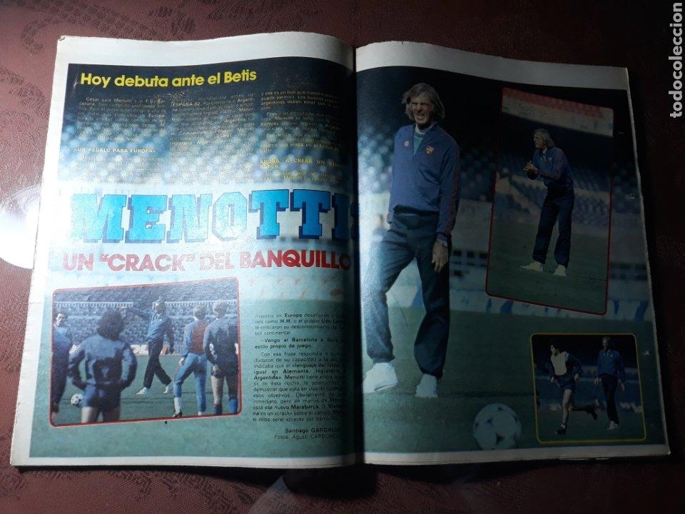 Coleccionismo deportivo: DIARIO DICEN N° 5705. 12 DE MARZO DE 1983 . MENOTTI- MARADONA . HOY NACE UN NUEVO BARCA - Foto 3 - 227094950